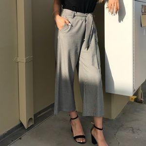 Pants - Checkered culottes